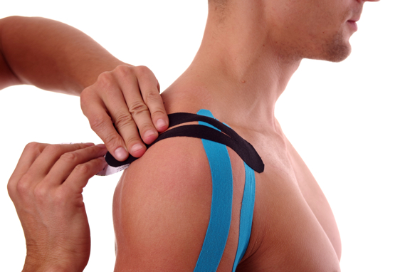 Kinesiology taping at Loxwood Clinic
